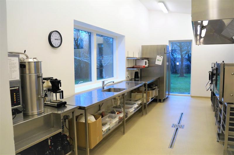 Küche von der Gruppenunterkunft 03453185 Sundeved Centret in Dänemark 6400  Soenderborg für Jugendfreizeiten