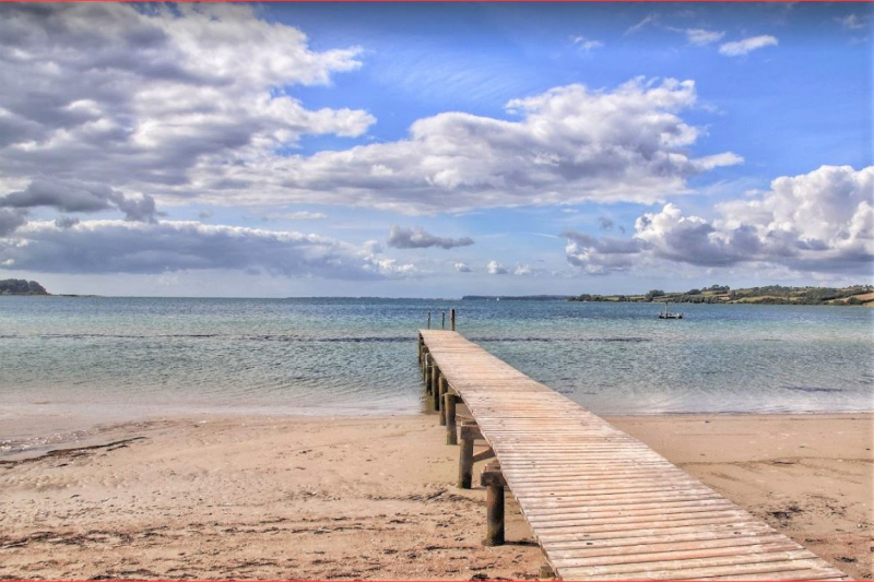 Bademöglichkeit von der Gruppenunterkunft 03453185 Sundeved Centret in Dänemark 6400  Soenderborg für Jugendfreizeiten