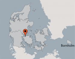Aussenansicht vom Gruppenhaus 03453861 Vestermosen Hus in Dänemark 5400 Bogense Sogn für Gruppenfreizeiten