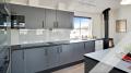 Küchenbild vom Gruppenhaus 03453864 Holmskov Poolhus in Dänemark 6470  Sydals Kommune für Familienfreizeiten
