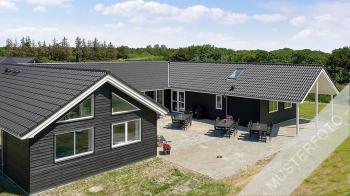 Aussenansicht vom Gruppenhaus 03453865 Fiskerløkken Aktivhus in Dänemark 6470 Sydals Kommune für Gruppenfreizeiten