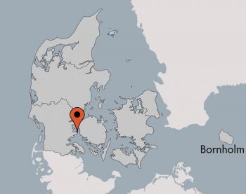 Karte von der Gruppenunterkunft 03453867 Aarøsund Poolhus in Dänemark 6100 Hadersleben für Kinderfreizeiten