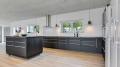 Küchenbild vom Gruppenhaus 03453867 Aarøsund Poolhus in Dänemark 6100 Hadersleben für Familienfreizeiten