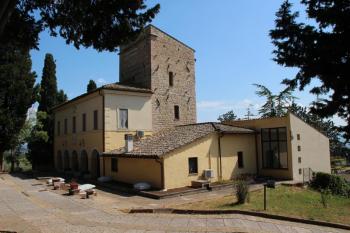 Aussenansicht vom Gruppenhaus 05395448 Gruppenhaus Assisi in Italien 06081 Assisi für Gruppenfreizeiten