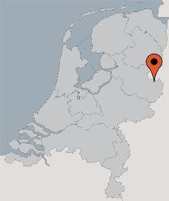 Karte von der Gruppenunterkunft 00310765 Gruppenhaus TUBBERGEN in Dänemark 7651 TUBBERGEN für Kinderfreizeiten