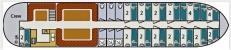 1. Grundrisse Plattbodensegelschiff JOSINA ELISABETH