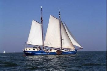 Aussenansicht vom Gruppenhaus 03103156 Trad. Segelschiff MERMAID in Niederlande 8861 Harlingen für Gruppenfreizeiten