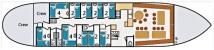 1. Grundrisse Plattbodensegelschiff AMBULANT