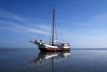 Aussenansicht vom Gruppenhaus 03103161 Plattbodenschiff EENDRACHT in Niederlande 1601 Enkhuizen für Gruppenfreizeiten