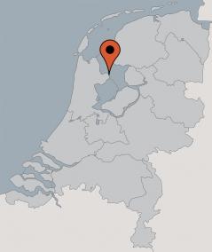Karte von der Gruppenunterkunft 03103161 Plattbodenschiff EENDRACHT in Dänemark 1601 Enkhuizen für Kinderfreizeiten